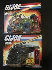 G.I. Joe Retro Collection Cobra HISS Tank And AWE Striker. Walmart Exclusive.