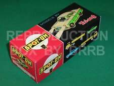 Spot-On #100SL Ford Zodiac with lights - Reproduction Box by DRRB