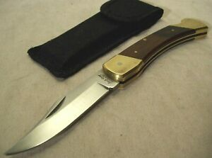 1990s~SCHRADE UNCLE HENRY SUPER SHARP LB7~UNUSED~BEAR PAW~LOCK BACK POCKET KNIFE
