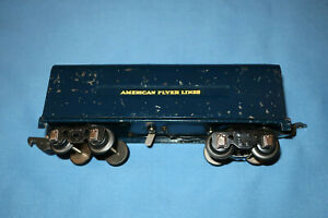 American Flyer #555C  Royal Blue Tender w/Chugger for #556 Loco. Works well