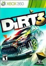 DiRT 3 (Microsoft Xbox 360, 2011) VERY GOOD
