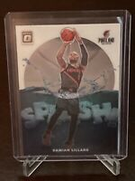2019 - 2020 Donruss Optic Damian Lillard Splash Insert SP Portland Trailblazers