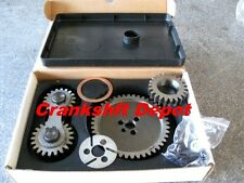 GM SBC V8 262 305 350 GEN I WITH HYDRAULIC ROLLER CAM TIMING GEAR DRIVE ~NOISY~
