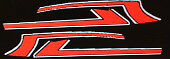 HONDA CX500 CX500A CX500B PAINTWORK DECAL SET