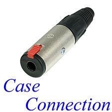 """NEUTRIK NJ3FC6 # Klinkenkabelbuchse Klinkenkupplung 3pol # 1/4"""" cable jack"""