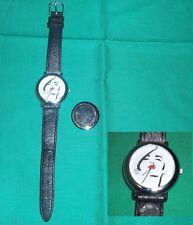 Lux Seife Armbanduhr Werbeuhr Uhr Lederarmband Swiss made Damenuhr clock