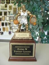 FANTASY BASKETBALL  INDIVIDUAL TROPHY WITH  MONSTER!