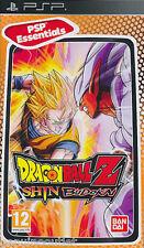 DRAGON BALL Z SHIN BUDOKAI Essentials PSP SEALED NEW