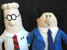 Dilbert and Boss Soft Stuffed Dolls