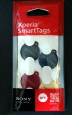 NIP Sealed Original Set 4 colors Sony Xperia NFC SmartTags for Android Smart Tag