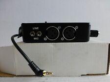 Beachtek EZ Adapter for EZ30 Camcorder Camera Microphone Mixer Dual XLR