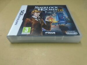 Sherlock Holmes DS The Mystery of the Mummy (Nintendo DS DSi 3DS 2009)