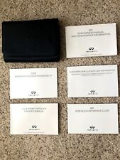 2018 Infiniti Q 50 Factory Original Owners Manual Complete Set Mint Condition