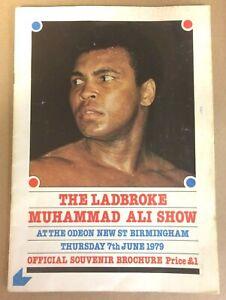MUHAMMAD ALI MEMORABILIA JUNE 7th 1979 VISIT TO BIRMINGHAM UK  PLUS ***