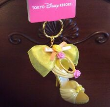 Tokyo Disney Resort Disney Princess Belle Shoes key ring key chain