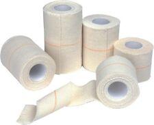 75mm heavy elastic adhesive bandage(WHITE Box of 24 ROLLS Free postage.