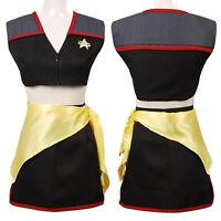 Star Trek Mirror Mirror Uniform Halloween Women's Cosplay Costume