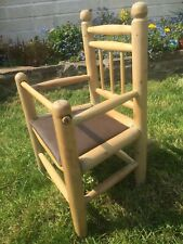 Vintage Baby Potty Training Chair Display Prop Victorian Collectible Seat Rare