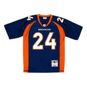 Mitchell & Ness Navy NFL Champ Bailey #24 2006 Legacy Jersey - 2XL