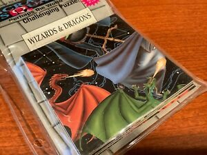 Wizard & Dragons Scramble Squares 9 Piece Puzzle