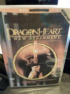 Dragonheart DVD A New Beginning - DRAGON HEART - DVD DISC ONLY - REGION 4 AUST