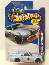 2013 Hot Wheels #250 Gulf Blue '70 Chevy Chevelle SS