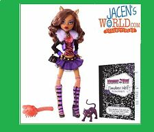 Dent Box Clawdeen Wolf Basic Doll w/ Crescent Original Favorite Monster High