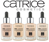 Catrice  HD Liquid Coverage Foundation  30ml ~~ Please Choose Shade