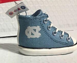 North Carolina Tar Heels Sneaker Ornament Christmas Tree Holiday NEW FREE SHIP