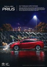 2016 Toyota Prius Electric Hybrid Original Advertisement Print Art Car Ad J547