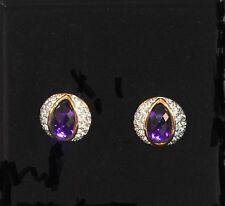 Joan Rivers 10 changeable Crystal Accent Evening Pierced Wardrobe Earrings