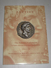 Numismatica Ars Classica Nac AG America Collection Coins Catalog Auction 98 2016