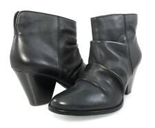 NIB SPLENDID RODEO RUCHED LEATHER SHORT BOOTIE WESTERN SLOUCHY BOOTS Women's 11
