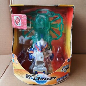 Rare 2005 Battle B Daman Cobalt Blade DHB Electronic Hasbro Toy d-right Launcher