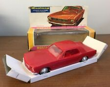 1966 Ford Mustang 2-Door Coupe Promo Model Friction Powered Red With Box