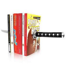 Novelty Katana Bookends Magnetic Ninja Sword Decor Bookshelf Ornaments 9509hc