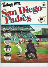 1971 TODAYS SAN DIEGO PADRES  DELL TEAM STAMPS ALBUM BOOK
