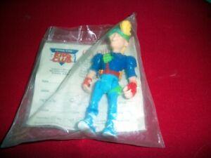 1990 Burger King BK Kids Club Kid Vid Action Figure: New Sealed