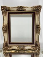 "VTG. Victorian Solid Wood Picture Frame Fits 11"" x 14"""