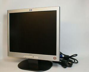 "HP 1702 LCD Monitor 17"" P9621D 1280x1024 carbon/silber Vesa Mount"