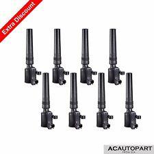 Set of 8 Ignition Coils on Plug Pack For Ford Lincoln Jaguar 3.9L 4.0L V8 DG515