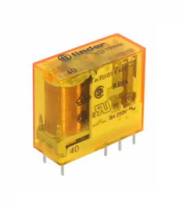 Finder Type 40.52 40.52.8.120.0000 Relay DPDT (2 Form C) 120VAC Coil Original