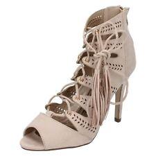 Ladies Anne Michelle Lace Up Sandal 'Heels'