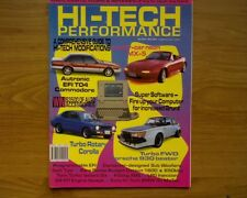 HI-TECH PERFORMANCE MAGAZINE First ISSUE no. 1 Turbo VL Commodore, chip changes