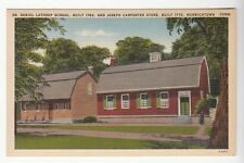 [52515] OLD POSTCARD LATHROP SCHOOL & CARPENTER STORE IN NORWICH, CONNECTICUT