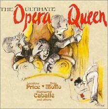 The Ultimate Opera Queen CD RCA Price, Moffo, Caballe Tosca La Wally La Traviata