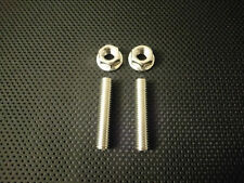 Honda CG125 Stainless Exhaust studs and Flange nuts XL125