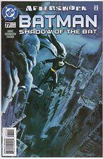 fumetto DC BATMAN SHADOW OF THE BAT AMERICANO NUMERO 77
