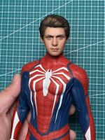 LIMTOYS 1/6 Game Ver. Spider-man Head Carved Peter Head Model Fit 12'' Figure