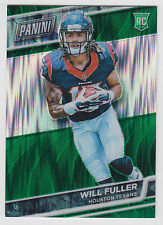 WILL FULLER 2016 Panini National NSCC VIP Gold Pack Green Shimmer #/5 Texans
